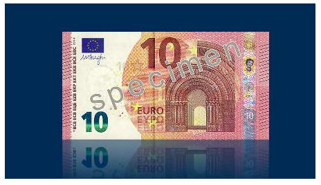 La nuova banconota da 10 euro!