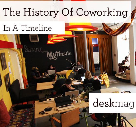 storia del coworking
