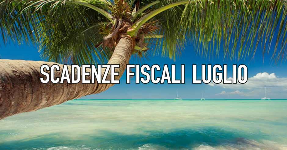 Da CowoCheConta le scadenze fiscali di Luglio
