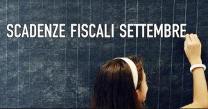 Qui tutte le scadenze fiscali di settembre, da CowoCheConta