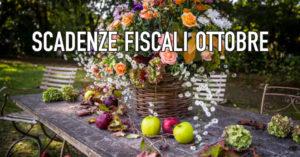 Tutte le scadenze fiscali di Ottobre, da CowoCheConta