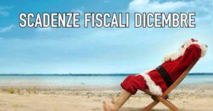 Agenda scadenze fiscali Dicembre
