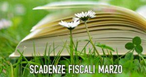 Scadenze fiscali Marzo