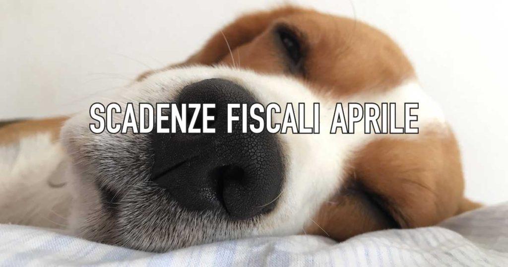 Aprile Scadenze Fiscali by CowoCheConta