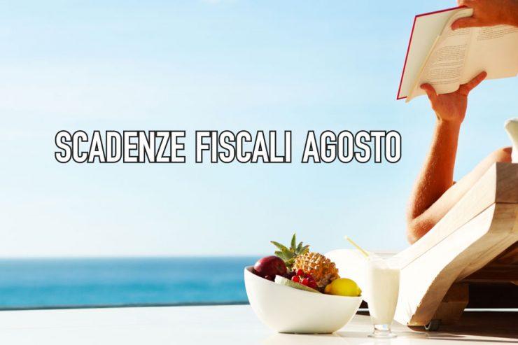 Le scadernze fiscali di Agosto, da CowoCheConta Milano