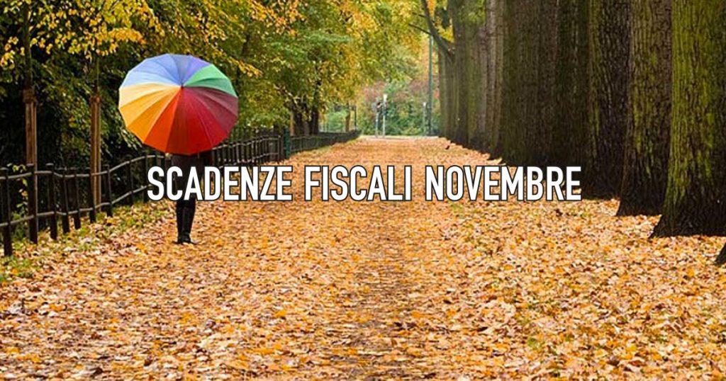 Scadenze Fiscali Novembre 2018 - CowoCheConta