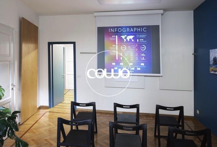 Aula formazione in coworking a Milano Duomo