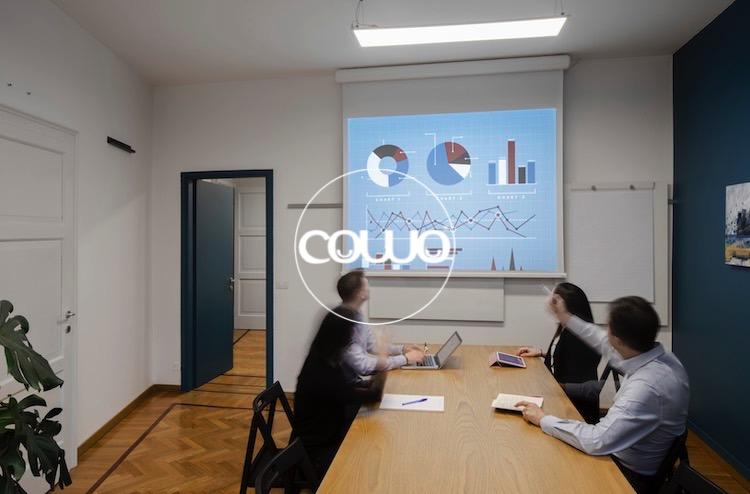 sala riunioni in spazio coworking a Milano Duomo
