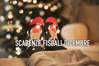 agenda fiscale dicembre 2019