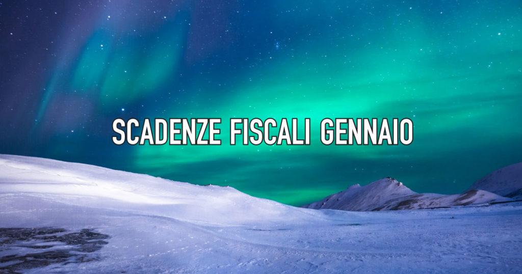 Le Scadenze fiscali di gennaio 2020