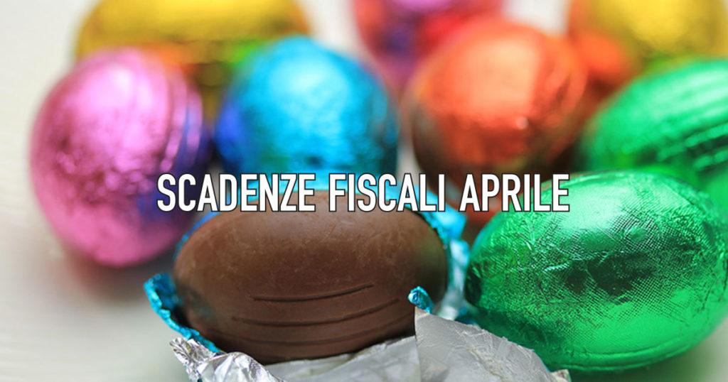 Le scadenze fiscali di aprile 2020