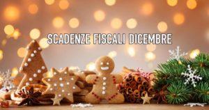 scadenze fiscali dicembre 2020